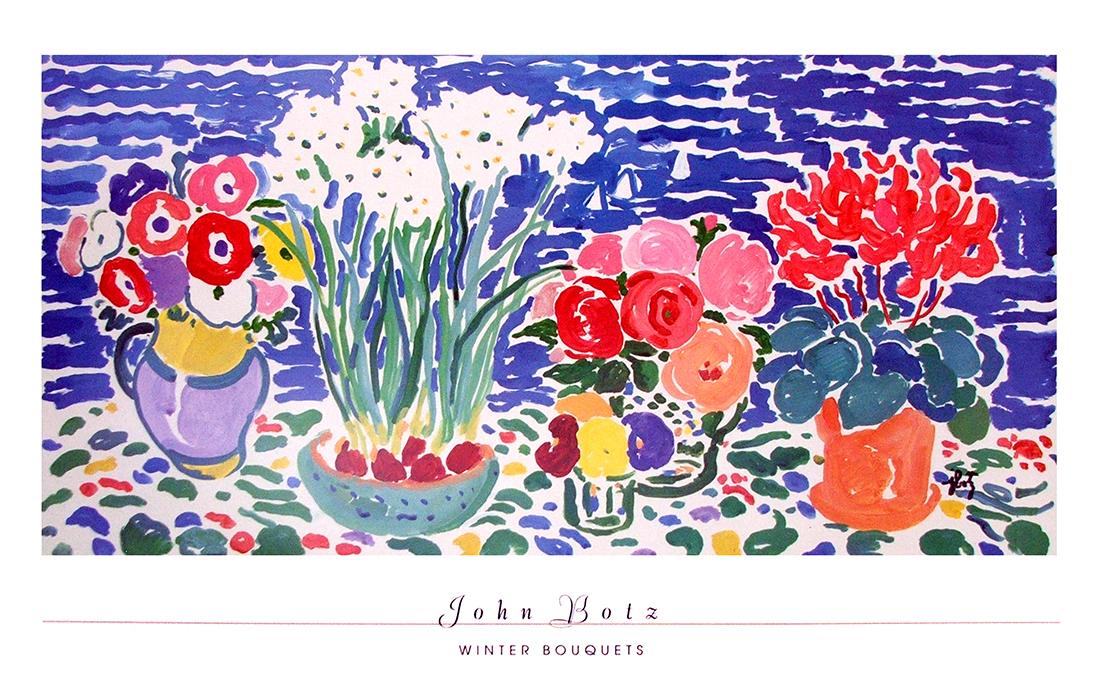 Winter Bouquets By John Botz Classic Prints