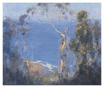 Ocean blue, Lorne 1921 by Arthur Streeton