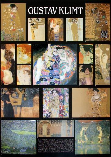 Eighteen Paintings by Gustav Klimt