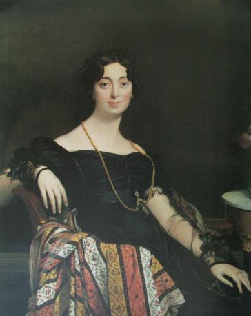 Madame Jacques-Louis Leblanc, 1823 by Edgar Degas