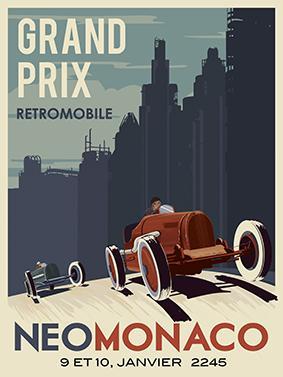 Vintage, Grand Prix, Retromobile, NeoMonaco