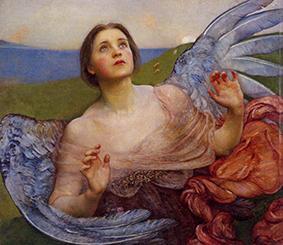 The Sense of Sight, 1895 by Annie Louisa Swynnerton