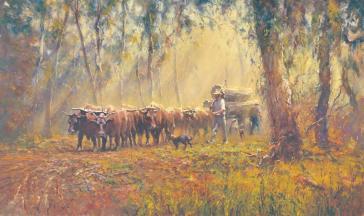 Bullocky Tom by Robert Hagan