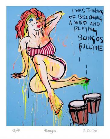 Bongos by Adam Cullen