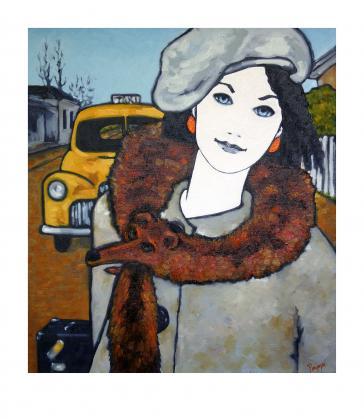 Foxy Lady by Judi Parkinson
