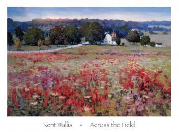 Across the Field by Kent Wallis