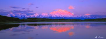 Sunrise, Denali National Park, Alaska, USA by Ken Duncan