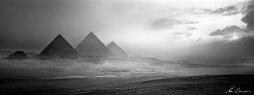 Pyramids, Egypt by Ken Duncan