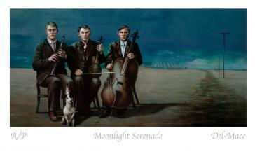 Moonlight Serenade by Gill Del-Mace