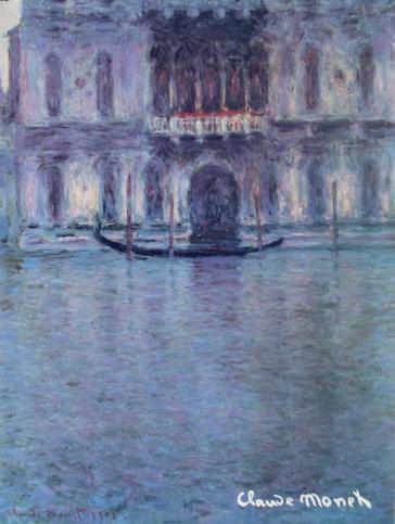 Palazzo Contarini, 1908 by Claude Monet