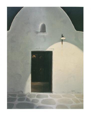 Osternacht in der Agais by K. Walter von LOM