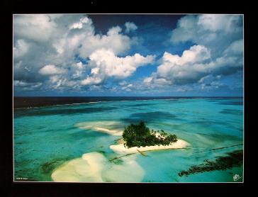 Atoll de Bora by Yann Arthus-Bertrand