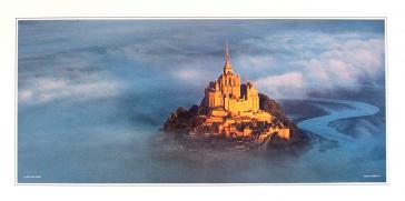 Le Mont Saint-Michel by Patrick Courault