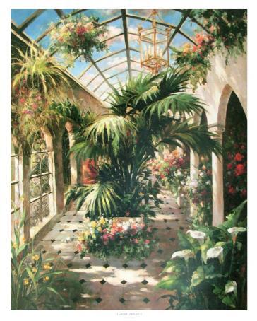 Garden Atrium 2 by Vera Oxley