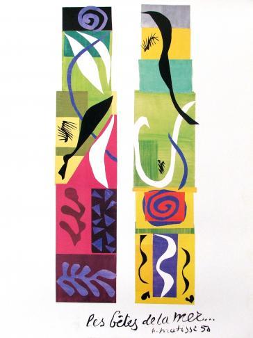 Les Betes de la Mer by Henri Matisse
