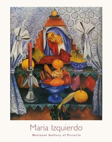 Altar de Dolores (Altar of Dolorosa Madonna), 1946 by Maria Izquierdo
