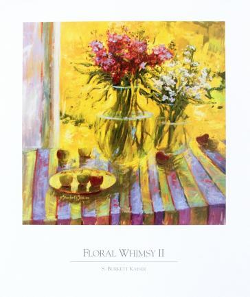Floral Whimsy 2 by S.Burkett Kaiser