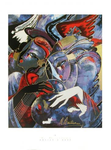 Artist's Duet by M. Martiros