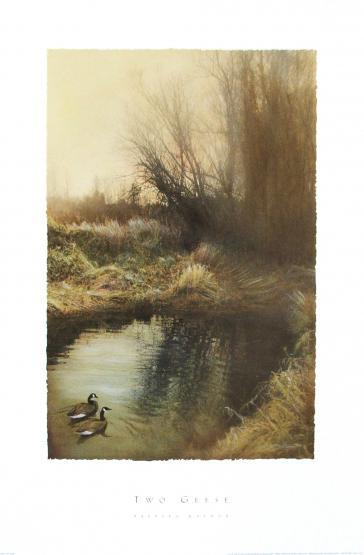 Two Geese by Barbara Kalhor