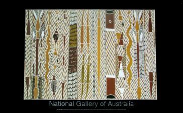 Gruwana Story, 1995-1996 by Neville Nanytjawuy