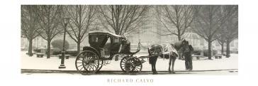 Hansom Cab by Richard Calvo