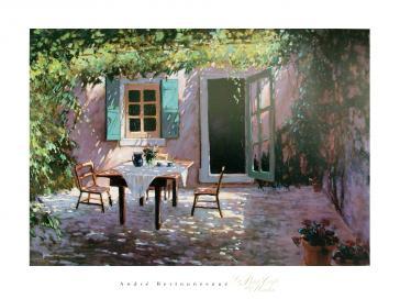 Le Petit Café du Matin by Andre Bertounesque