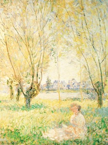 Sous Les Saules by Claude Monet