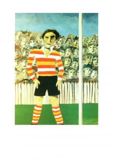 Footballer, 1946 by Sidney Nolan
