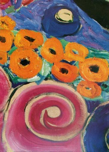 Brushstrokes of an Artist 8202(B) by Gustav Klimt