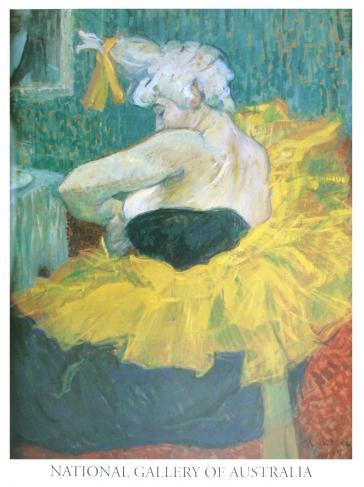 La clownesse Cha-u-Kao (Cha-u-Kao the woman clown) 1895 by Toulouse-Lautrec