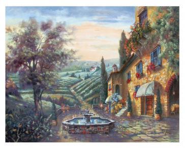Toscana in Pietra by Carl Valente
