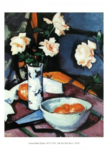 Still Life With Roses, 1924 by Samuel John Peploe