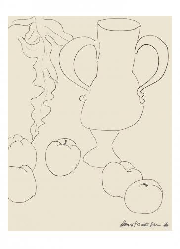 Nature morte. La cruche et les pommes, 1940 by Henri Matisse