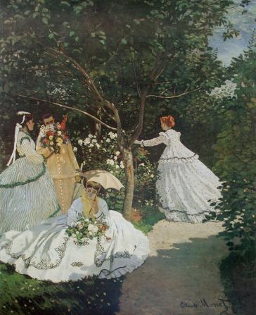 Femmes au Jardin (Women in the Garden) by Claude Monet