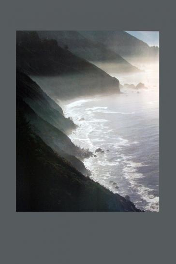 Mist on Coast, Big Sur, California, 1975 by Eliot Porter