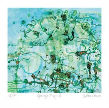Spring Frogs ll by John Olsen