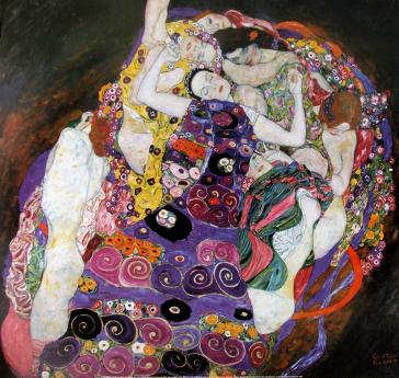 Die Jungfrau, 1913 by Gustav Klimt
