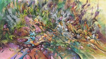 Waterhole Meltdown by Donald James Waters
