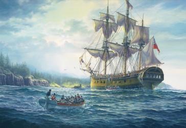 HMS Sirius by Brian Wood