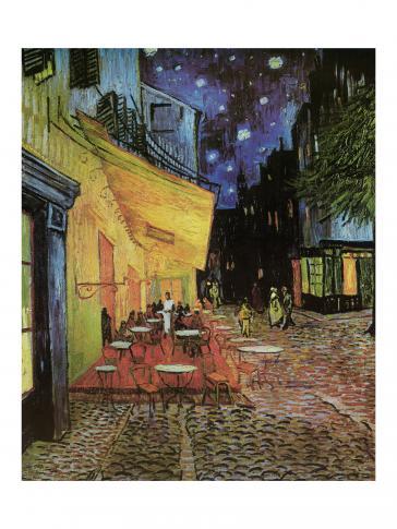 Café de nuit, 1888 by Vincent Van Gogh