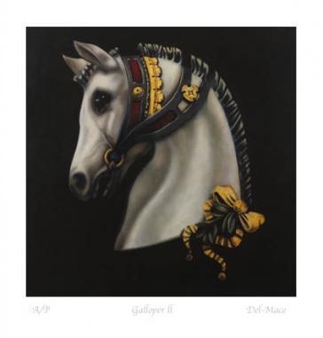 Galloper II by Gill Del-Mace