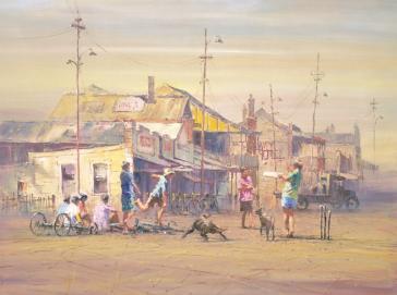 Koolgardie Cricket Club by Robert Hagan