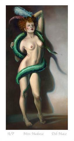 Miss Medusa by Gill Del-Mace