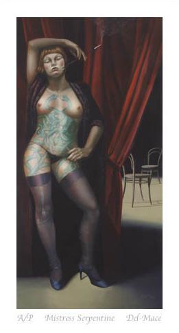 Mistress Serpentine by Gill Del-Mace
