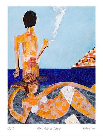 Peel Me a Lotus by Mark Schaller