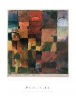 Rote und Weisse Kuppeln, 1914 by Paul Klee