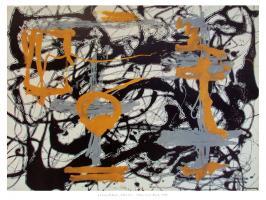 Yellow Grey Black, 1948 by Jackson Pollock