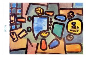 Ohne Titel (Gliederpuppe), 1939 by Paul Klee
