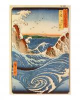 Awa Province Naruto Rapids by Utagawa Hiroshige