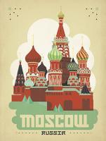 Vintage Kremlin, Moscow, Russia by Al Joeand